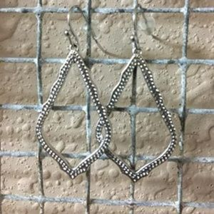 Kendra Scott Silver Earrings